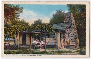 Daniel Boone's Log Cabin on KY River