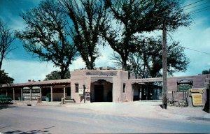 New Mexico Albuquerque Old Town Plaza La Hacienda Dining Room
