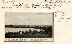 VT - Greensboro. Caspian Lake
