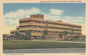 BEAUMONT, Texas, 30-40s; Baptist Hospital of South East Texas