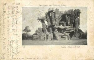 argentina, BUENOS AIRES, Gruta, Plaza del Sud (1900) Stamp