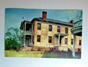 VTG Postcard Pemberton HQ General John Pemberton Confederate Vicksburg 1958  580