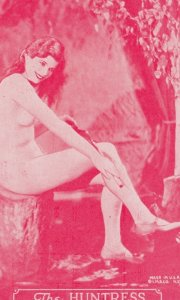 Stripper Pin-Up Girl  , 1940-50s : #6