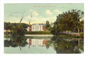 Opera & Library, Franklin, New Hampshire, 1910-1930s