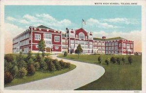 Ohio Toledo Waite High School 1940 Albertype