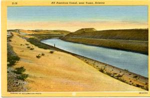 AZ - Yuma, All America Canal