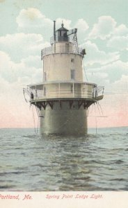 PORTLAND , Maine , 00-10s ; Spring Point LIGHTHOUSE
