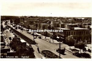 iraq, BAGHDAD BAGDAD, Battaween Avenue (1940s) RPPC