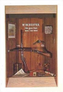 Winchester '73 & Colt .45 pistol,Lawton,Oklahoma 40-60s