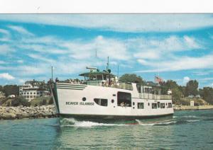 BEAVER ISLAND, Michigan 50-60s Beaver Islander Ferry