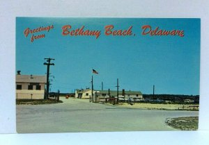 Bethany Beach Delaware National Guard Summer Training Camp Postcard
