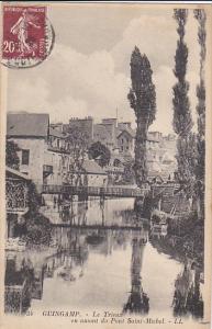 Le Trieux En Amont Du Pont Saint-Michel, GUINGAMP (Cotes d´Armor), France, 1...