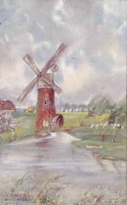 AS: Misch & Stock # 231, Nature-Miniatures, Wind and Water Mill, 10-20s
