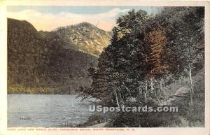 Echo Lake & Eagle Cliff White Mountains NH 1924