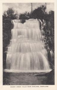 OAKLAND , Maryland , 1910-20s ; Muddy Creek Falls