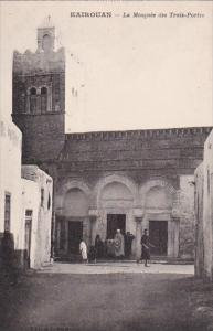 Tunisia Kairouan La Mosquee des Trois Portes