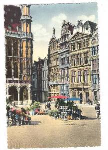 RP, Markt, Un Coin De La Grand'Place, Bruxelles, Belgium, 1920-1940s