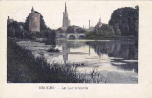 Le Lac D'Amour, Bruges (West Flanders), Belgium, PU-1902