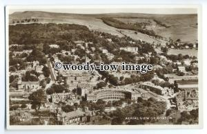 tp9075 - Derbyshire - Aerial View of Buxton & the Countryside beyond - postcard