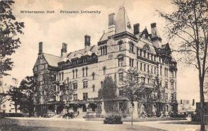 8978 Witherspoon Hall, Princeton University