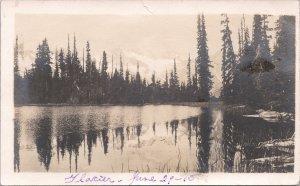 RPPC - A glacier somewhere in Alaska, June 29, 1915