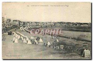 Old Postcard Les Sables d'Olonne Overview of the Beach