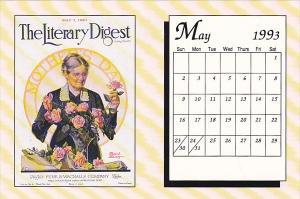 May 1993 Limited Editon Calendar Card