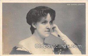 Miss Queenie Leighton Unused