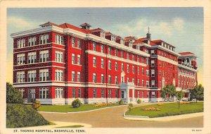 Hospitals Post Card St Thomas Hospital Nashville, Tennessee, USA Postcard Unused