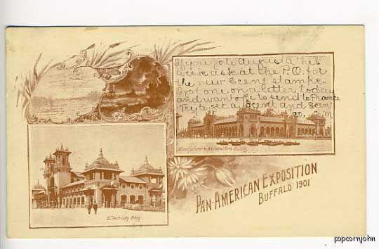 Pan-American Expo PMC RFD Cancel Postcard
