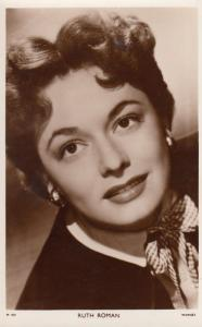 Ruth Roman Picturegoer 1950s Vintage Photo Postcard