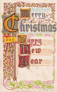 Merry Christmas and Happy New Year,  Holly, 10-20s