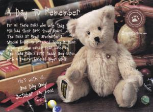 Teddy B. Bear, Collections, A Day To Remember, BoydsStuff.com, 2001