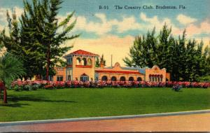 Florida Bradenton Country Club Curteich