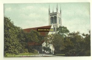 cu0665 - St Faith Church , Maidstone , Kent - postcard