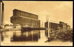 canada, FORT WILLIAM, Ontario, Elevators (1910s)