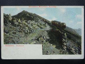 Snowdonia Mountain Railway SNOWDON THE SUMMIT c1907 Postcard