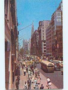 Unused Pre-1980 STREET SCENE New York City NY hs3178