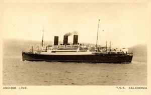 Anchor Line - TSS Caledonia