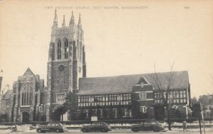WEST NEWTON , Massachusetts ,1930s ; First Unitarian Church