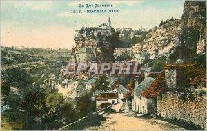 Postcard Old Rocamadour Lot Illustrious