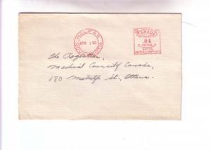 Cover, Medical Council of Canada, Halifax Nova Scotia Meter 1953
