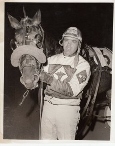 BRANDYWINE Harness Horse Race Track , 1974 ; ARMBRO LADDIE winner