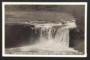 Cumberland Falls Cumberland Falls State Park Ky 1950 I-Y-221 Real Photo