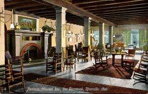 California Riverside Glenwood Mission Inn Parlors