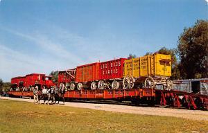 Circus World Circus Train Percheron Horses 1919 Circus Unused