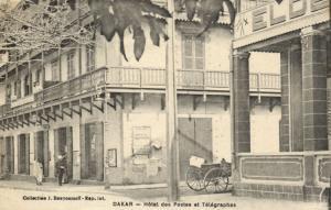 CPA Sénégal Afrique Dakar - Hotel des Postes et Télégraphes (68142)