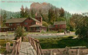 c1910 Mitchell Postcard 1369 - Glenbridge Inn, Lake Tahoe NV unposted