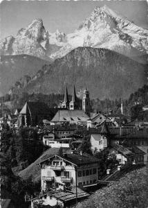Berchtesgaden mit dem Watzmann Gasthaus Pension Panorama Church Kirche