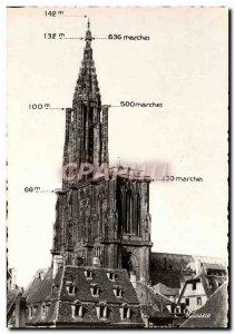 Modern Postcard Strasbourg La Cathedrale